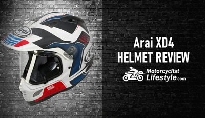 Arai XD4 Motorcycle Helmet Review
