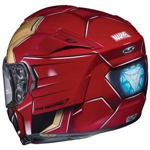HJC RPHA 70 ST Iron Man Helmet back