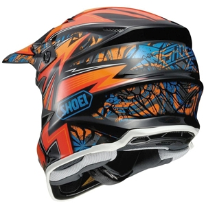 Shoei VFX-W Helmet back