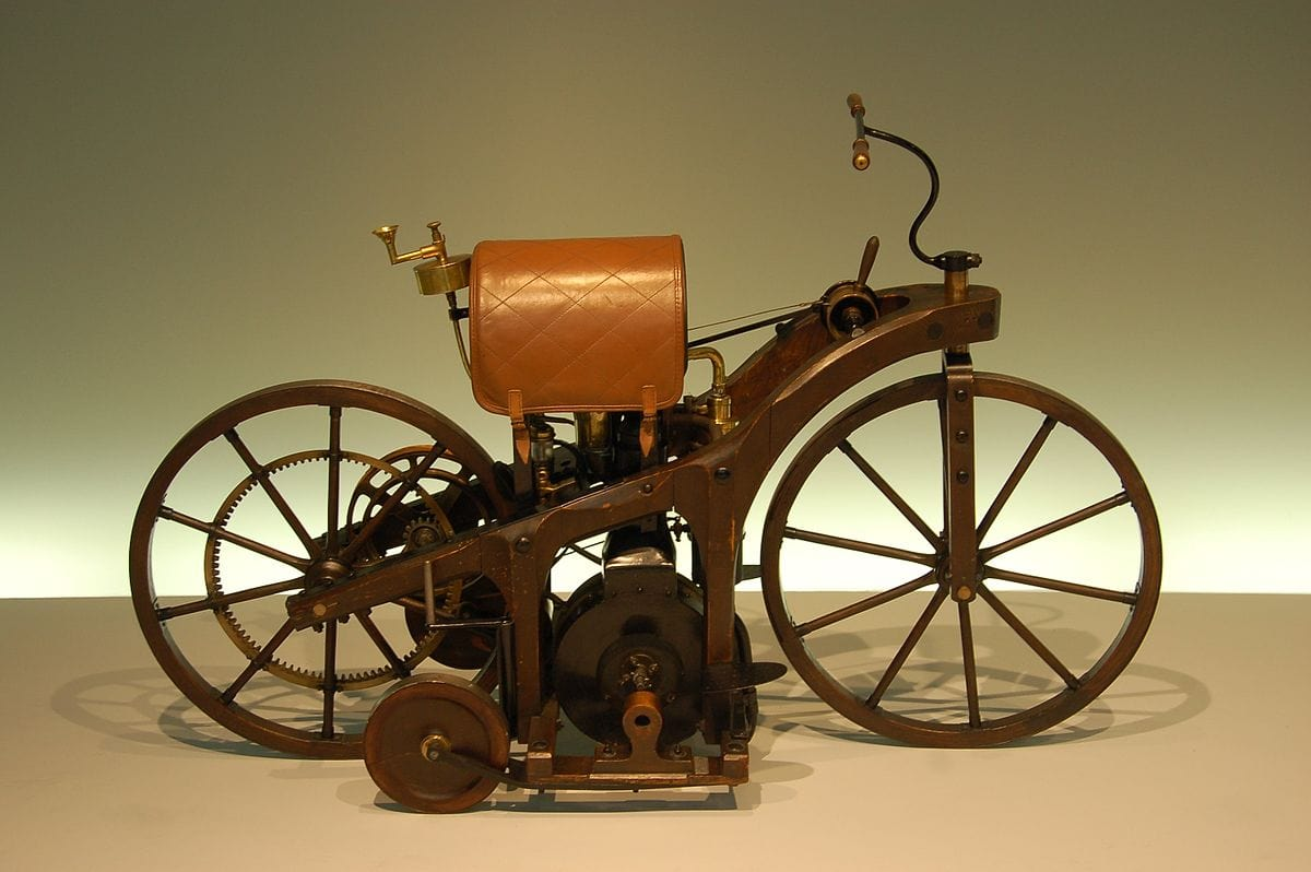 Daimlers First Motorcycle