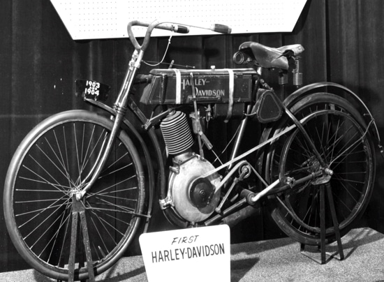 First Harley Davidson Motorcycle from 1903