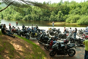 Group Motorcycle Riding