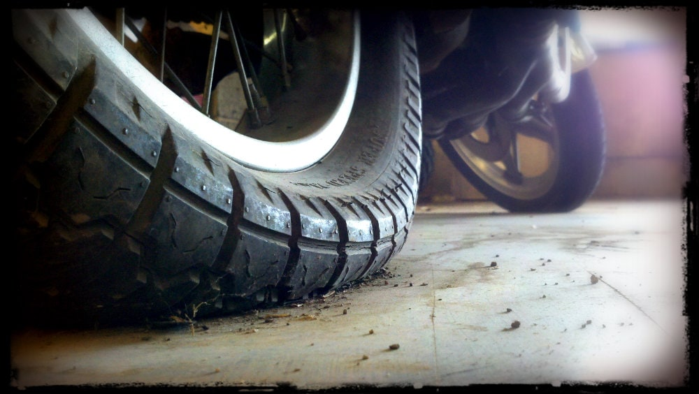 Low Motorcycle Tire Pressure During Winter