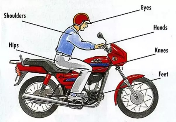 Motorcycle Riding Posture