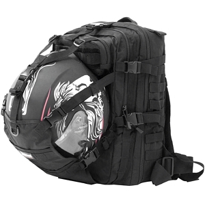 Seibertron Molle Backpack with helmet