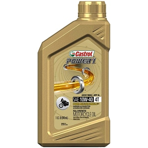Castrol Power 1 4T Full Synthetic Motorcycle Oil
