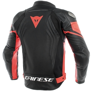Dainese Racing 3 Perforated Leather Jacket back