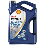 Shell Rotella T6 Full Synthetic Engine Oil