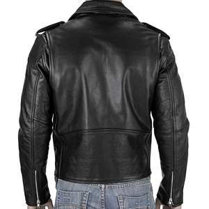 Viking Cycle Angel Fire Leather Motorcycle Jacket back