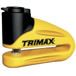 Trimax T665LY Hardened Metal Disc Lock
