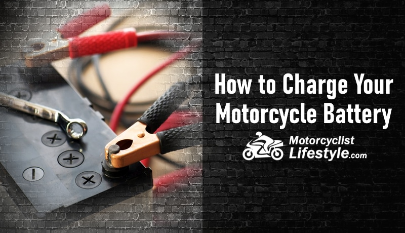 how to charge motorcycle battery guide