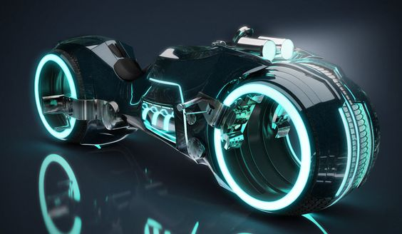 The Lightcycle from Tron Legacy