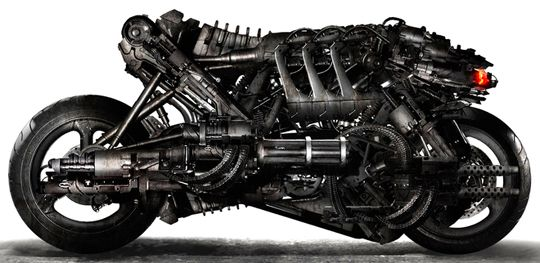 The Moto-Terminator Bike from Terminator Salvation