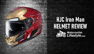 HJC Iron Man Motorcycle Helmet Review