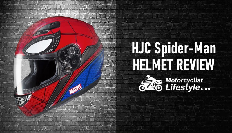 HJC Spider-Man Motorcycle Helmet Review