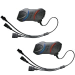 Sena SMH10R Motorcycle Bluetooth Headset dual pack