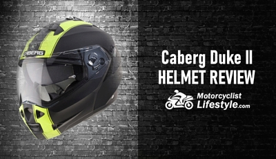 Caberg Duke II Motorcycle Helmet Review