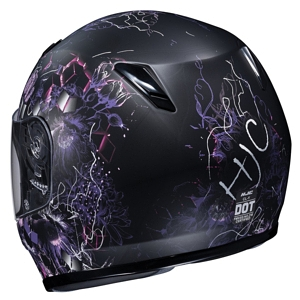 HJC CL-Y Youth Helmet back