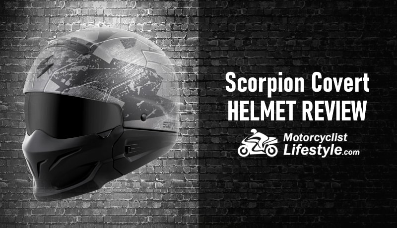 Scorpion Covert Motorcycle Helmet Review