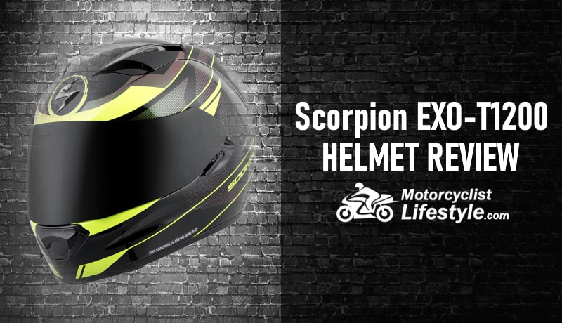 Scorpion EXO-T1200 Motorcycle Helmet Review