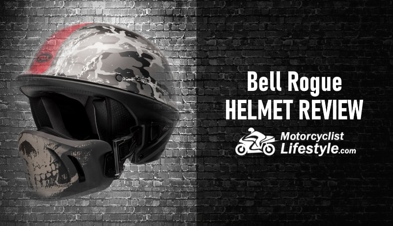 Bell Rogue Ghost Recon Motorcycle Helmet Review