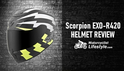 Scorpion EXO-R420 Motorcycle Helmet Review