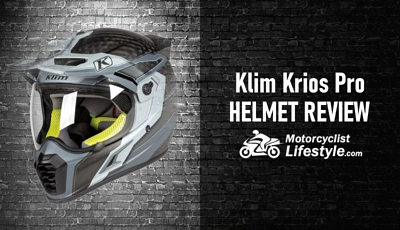 Klim Krios Pro Motorcycle Helmet Review
