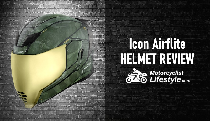 Icon Airflite Motorcycle Helmet Review