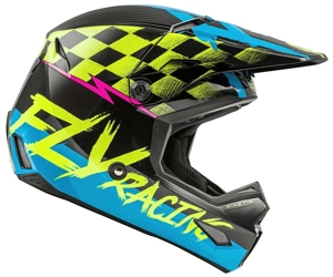 Fly Racing Youth Kinetic Helmet side