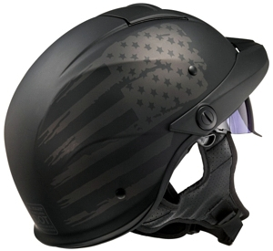LS2 Rebellion Helmet back