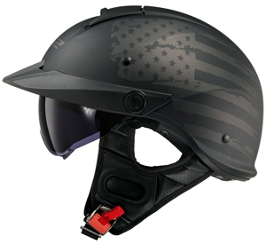 LS2 Rebellion Helmet side