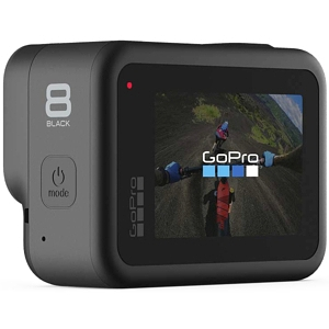 GoPro Hero 8 Motorcycle Helmet Camera back