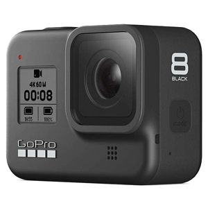 GoPro Hero 8 Motorcycle Helmet Camera front