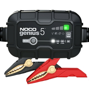 NOCO Genius 5 Battery Charger and Maintainer 6V-12V