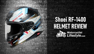 Shoei RF-1400 Motorcycle Helmet Review