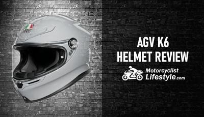 AGV K6 Motorcycle Helmet Review